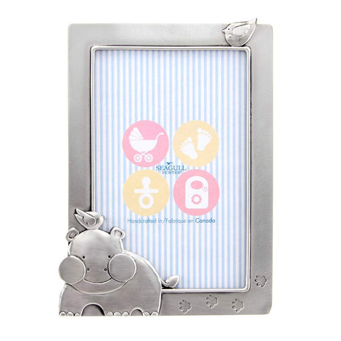 Hippo Baby 4x6 Picture Frame