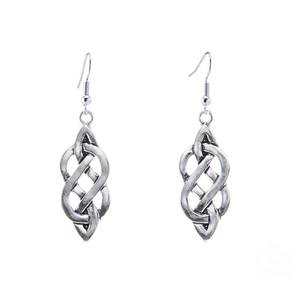 Celtic Eternity Knot Earrings