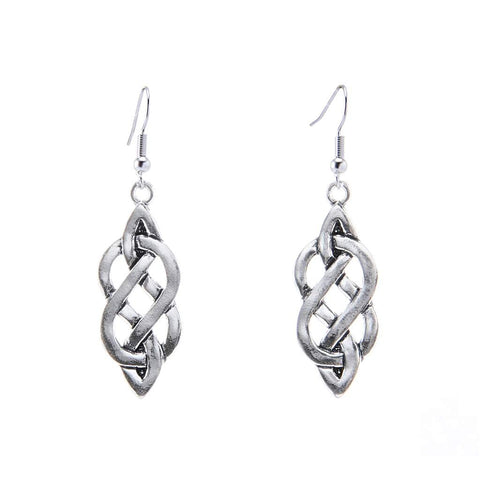 Celtic Eternity Knot Earrings E007