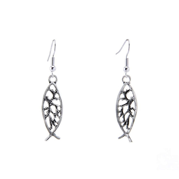 Fish earrings E010