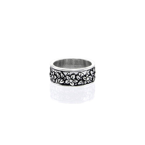 Floral ladies ring R010