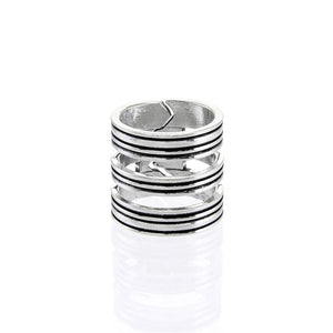 Stripes Stacked Ring R024