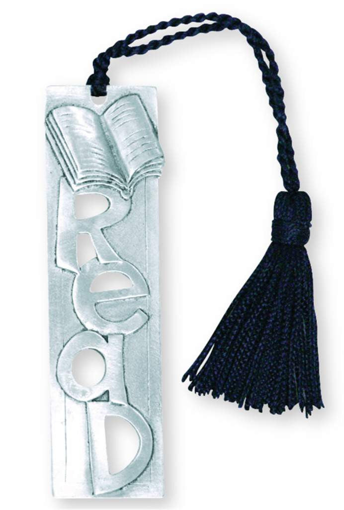 READ TASSEL BOOKMARK