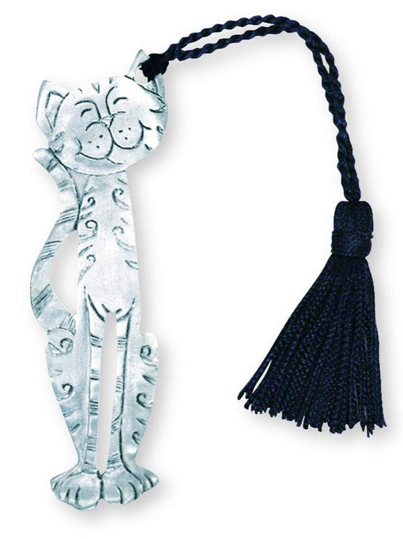 CAT TASSEL BOOKMARK BO-3011