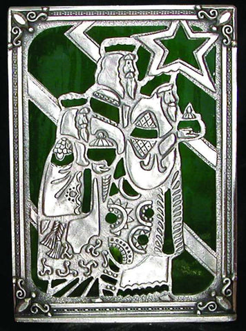 Three Wisemen Stained Glass Tealight STL-3