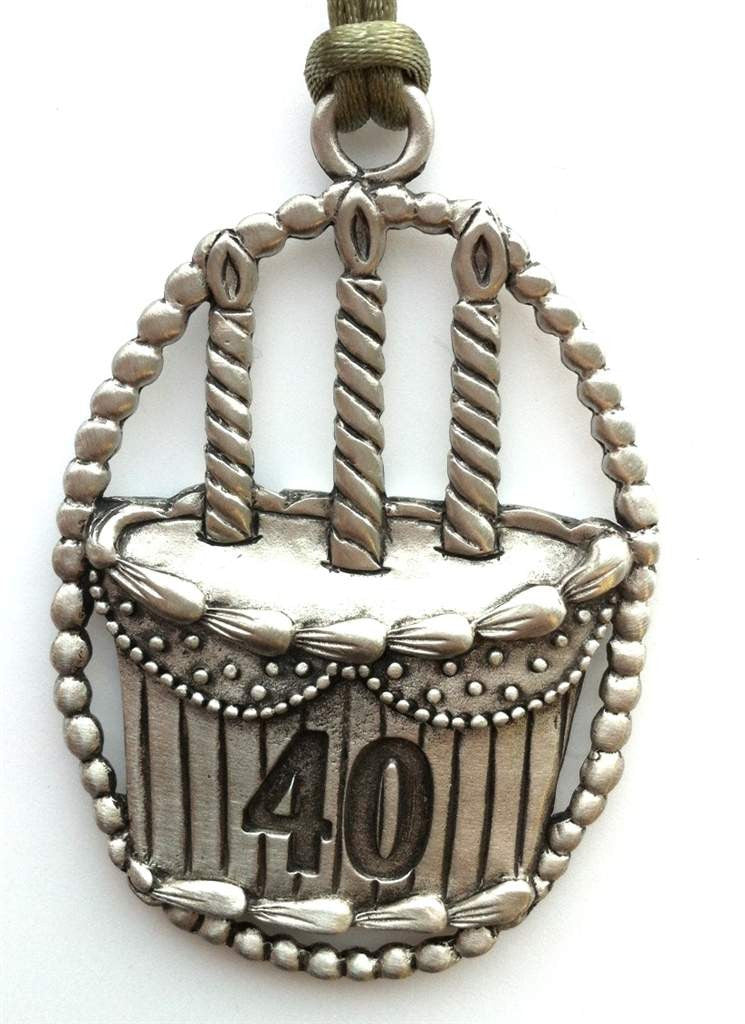 40th Birthday Occasion Ornament OSC021