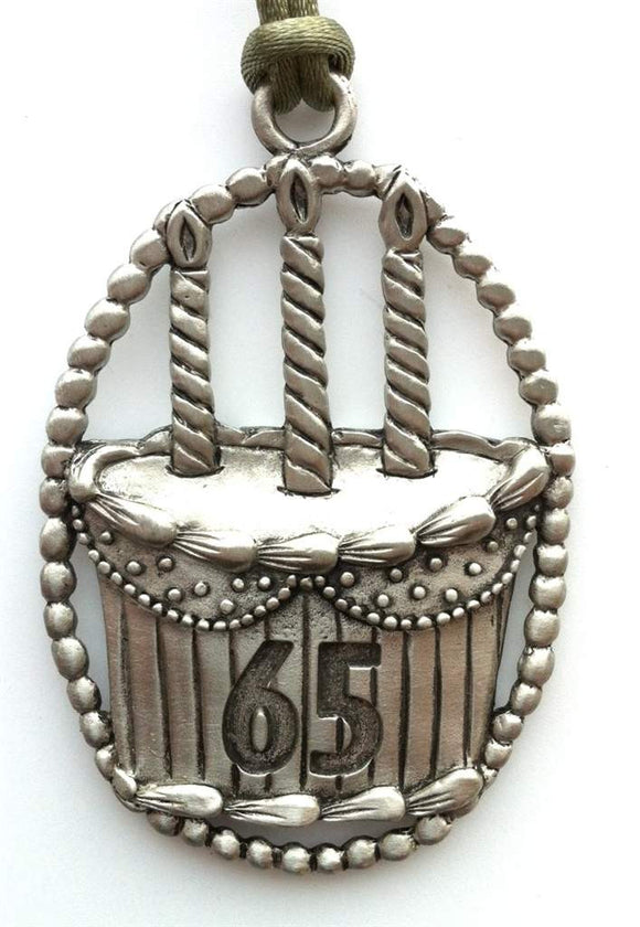65th Birthday Occasion Ornament OSC023