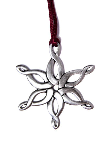 Celtic Snowflake Ornament SC005