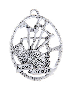 Bagpipes Nova Scotia Ornament SC020