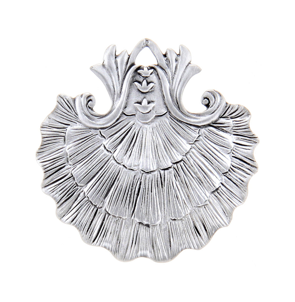 Baroque Scallop Ornament