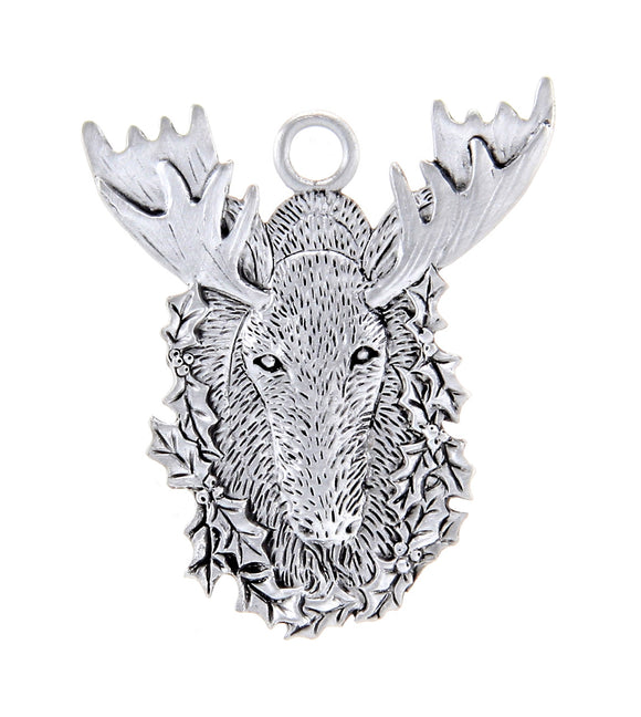 Holly Moose Ornament SC013
