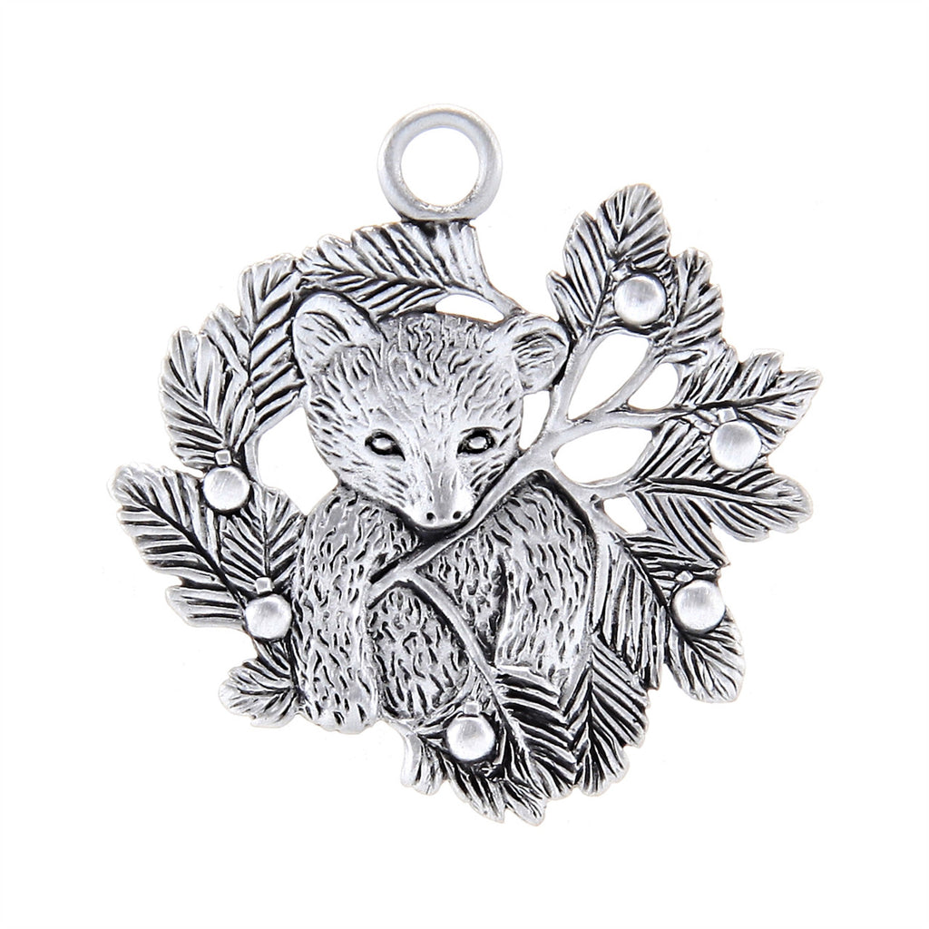 Pine Bear Ornament SC014