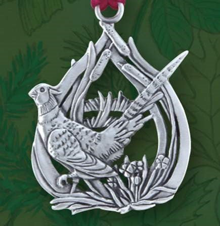 Ring Necked Pheasant Ornament SC093
