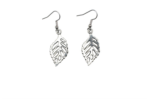 Beech Leaf Earrings E069
