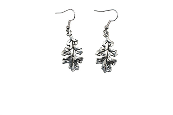Oak Leaf Earrings E071