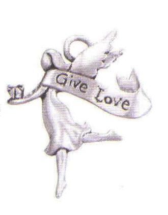 Give Love Smooth Stylized Orn SSC-8