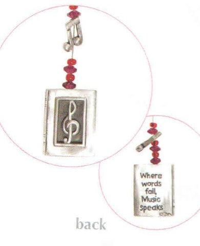 Music Wire Swirl Bookmark BM-2006