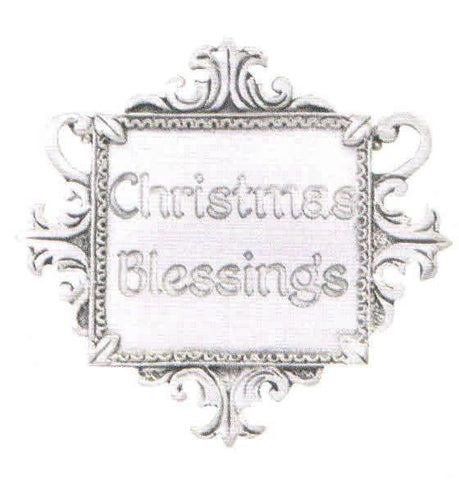 """Christmas Blessings"" Charm"