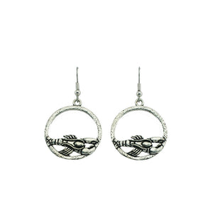Lobster Hoop Earrings E051