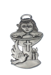 Baptism Sm Ornament SC122