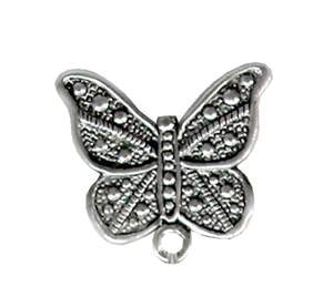 Butterfly Jeweled Wire Bookmark BM-1001G