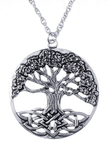 Celtic Tree of Life Chain Pendant CP031G