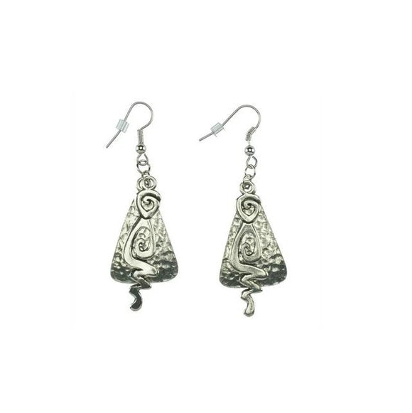 Balkney Hammered Earrings E089