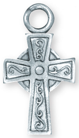 Celtic Cross Latch Keychain KC-1022