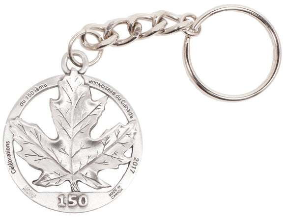 C150 Maple Leaf Keychain KC003