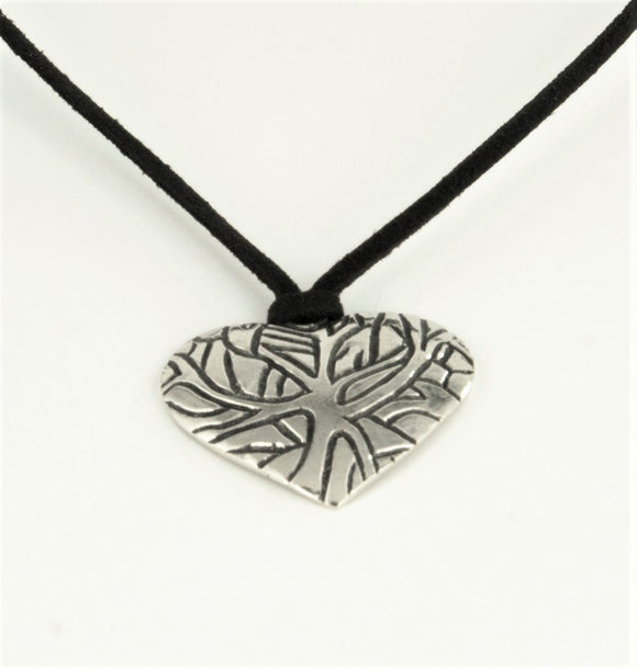 Branches Heart Pendant P041