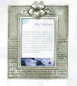 Mother/Violet 2x3 frame PF-1338