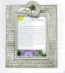 Sister/Morning Glory 2x3 frame PF-1341
