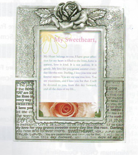 Sweetheart/Rose 2x3 frame PF-1343