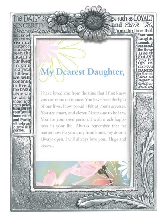 Daughter/Daisy 4x6 frame Pf-2127