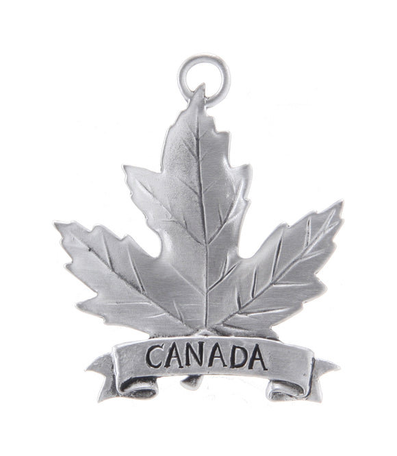 Maple Leaf Canada Ornament SC016