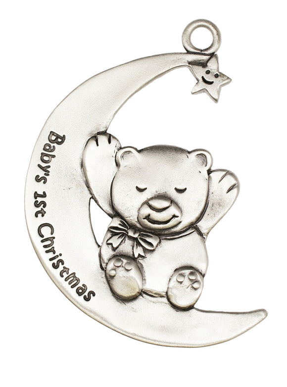 Baby's First Teddy Ornament SC079