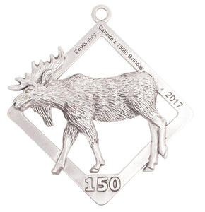 C150 Moose Ornament SC116