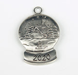 Winters Eve Snow Globe 2020 Ornament SC143