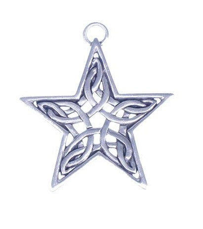 Angel Fire Celtic Star Ornament SC144