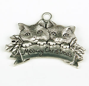 Meowy Christmas Ornament SC158