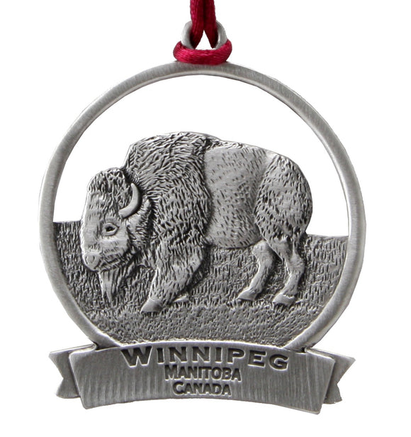 Bison Ornament SCC-1427S