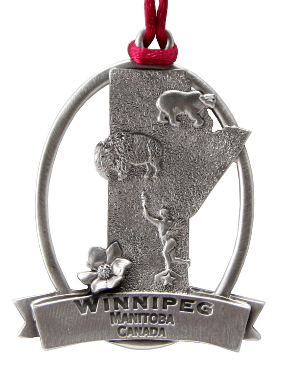 Province of Manitoba Ornament SCC-1431S