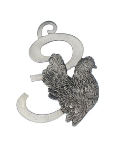 Three French Hens Ornament SC-499