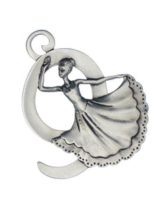 Nine Ladies Dancing Ornament SC-505