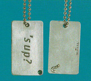 """S'UP"" Dog Tag DT-100"