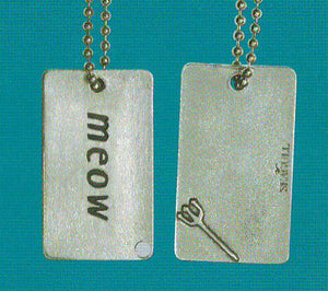 Meow Dog Tag DT-101