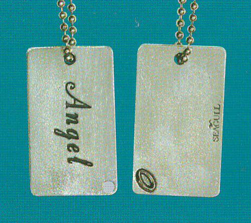 Angel Dog Tag DT-108