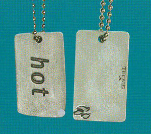Hot Dog Tag DT-112