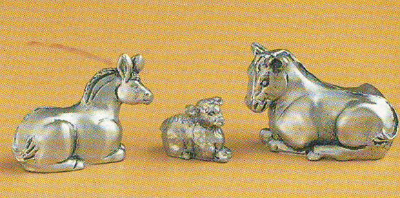 Lamb/Donkey/Cow set MIN-21