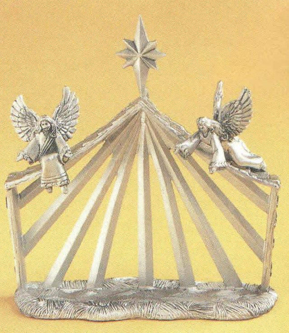 Manger/Angels Nativity set MIN-23